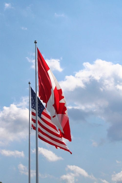 canadian flag usa