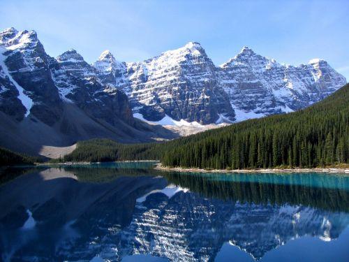 Canadian Rockies' Moraine Lake