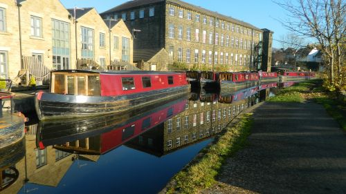 canal barge boat