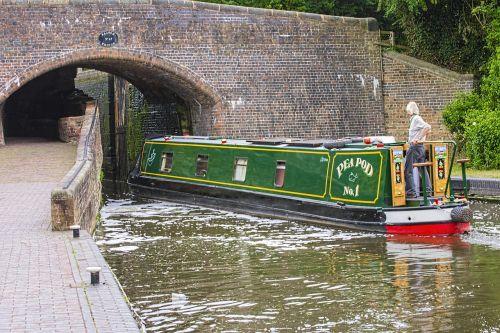 canal barge bridge