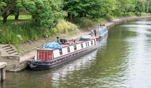 canal  boat  water