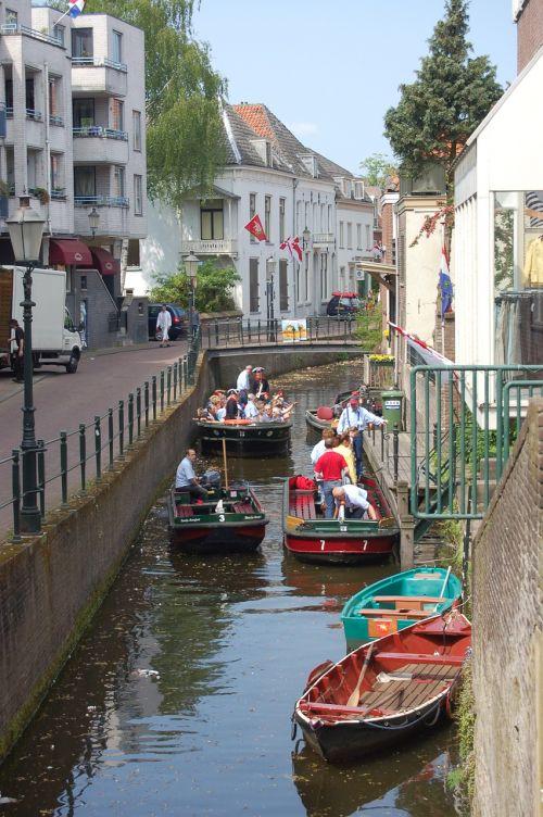 canal amersfoort boat