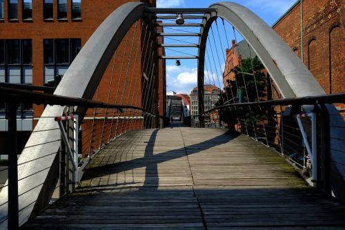 kanalo tiltas,toli,kanalas,vandens kanalas,miestas,vanduo,tiltų statyba,architektūra,tiltas,perėjimas,perėjimas,panorama,lankytinos vietos,verta aplankyti,pėsčiųjų tiltas,hamburgas,uosto miestas,uostas,Elbe,Hanzos miestas,šiaurinė Vokietija,Vokietija,uosto miestas,pastatas