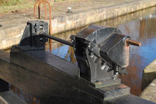 užraktas, mechanizmas, kanalas, Mančesteris, kanalo užrakto mechanizmas