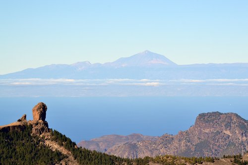 canary islands  mountain  teneriffe