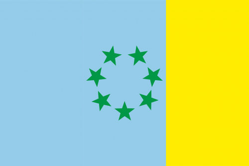 canary islands flag vexillology