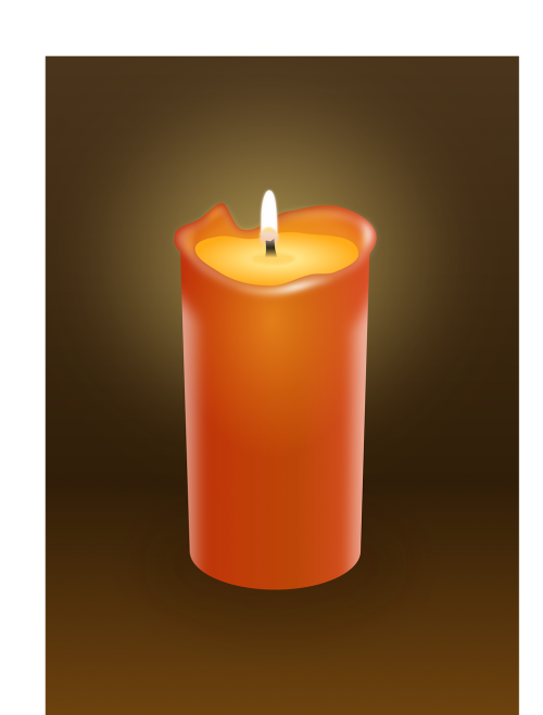 candle fire light