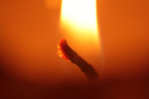 candle candle wick wick
