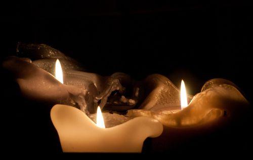 candle flame christmas