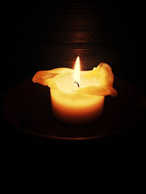 candle romantic candlelight