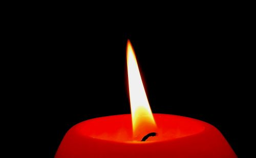 candle wick flame