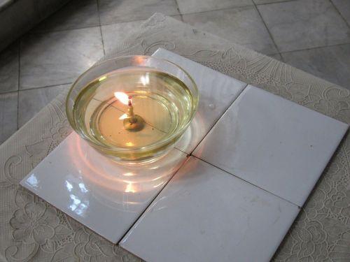 candle religion shrine