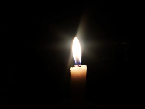 candle light torch