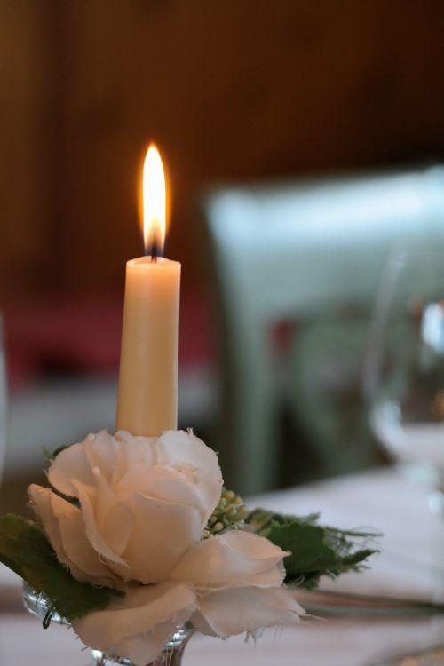 candle decoration festivity