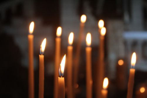 candle flame religion