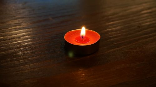 candle burnt flame
