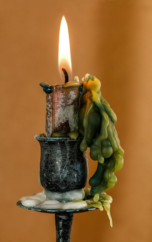 candle candle wax candlelight