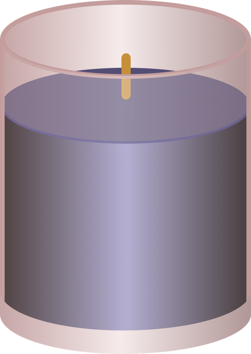 candle unlit aromatherapy