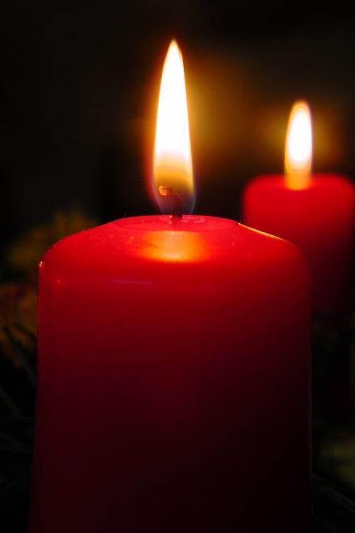 candle flame cozy
