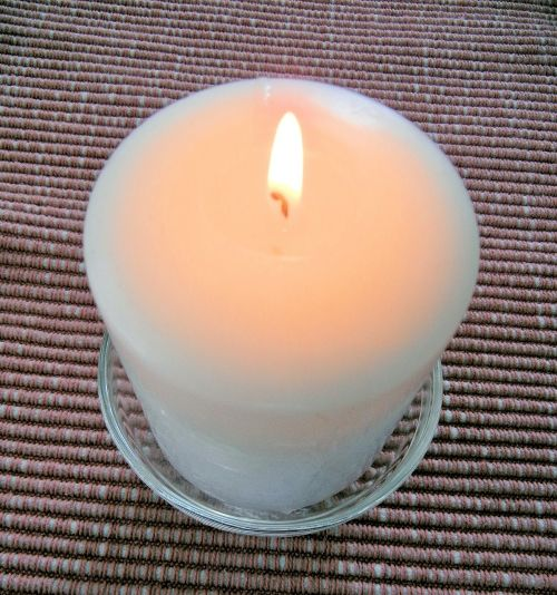 candle flame table