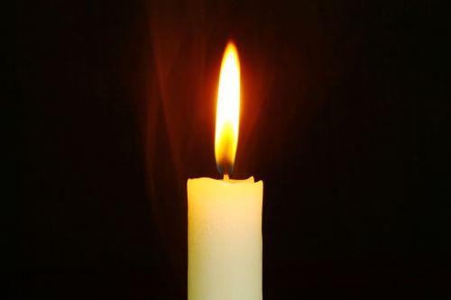 candle smoke smoky