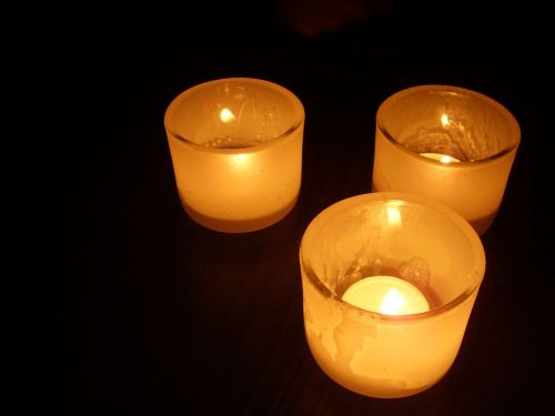 candlelight candles darkness