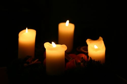 candlelight candles christmas