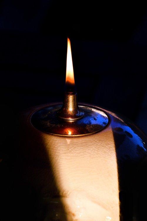 candlelight  flame  light
