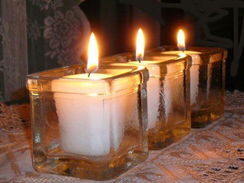 candlelight light light and shade