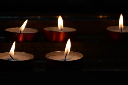 candles church light