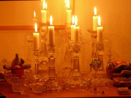 candles candlelight light
