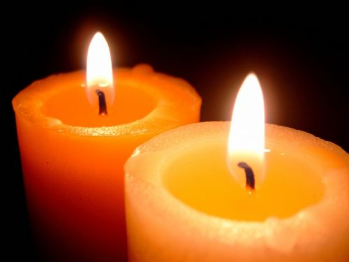 candles flame light