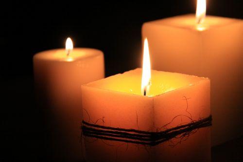 candles calls meditation