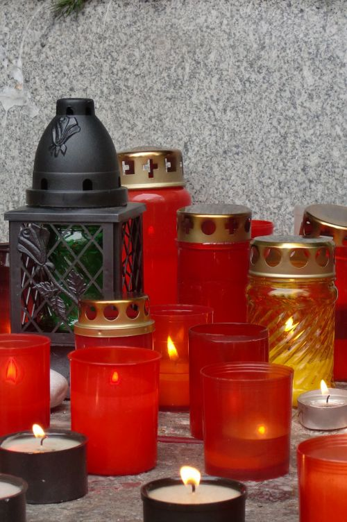 candles remembrance peace
