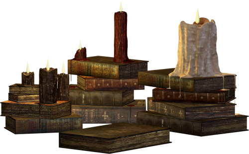 candles candle books