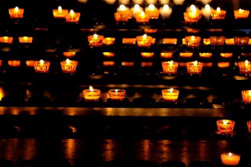 candles lights light