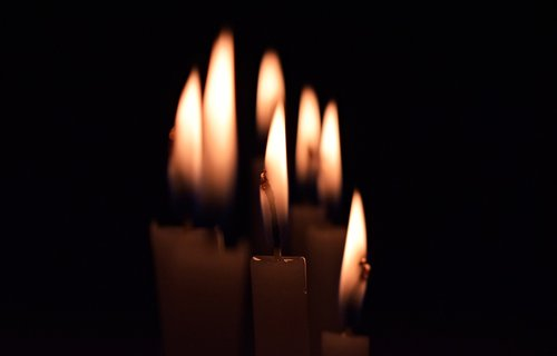 candles  on  seven