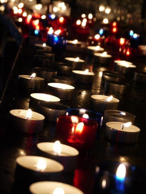 candles light fire
