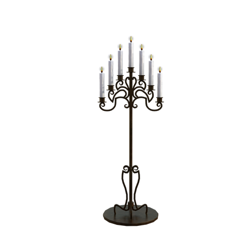 candles  stand  cozy