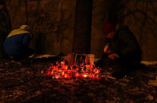 candles people sadness