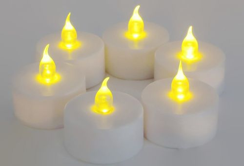 candles battery operated glow