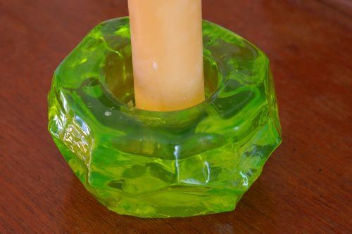 žvakidė,žalias,žvakė,neonas žalia