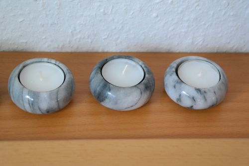 candlestick tea lights candlelight