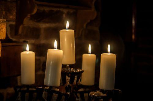 candlestick candles wax candles