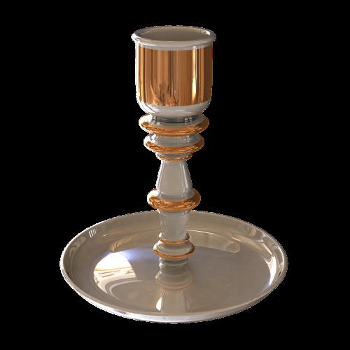 candlestick porcelain