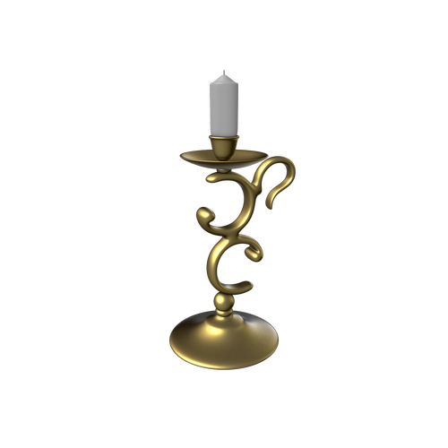 candlestick  candle  transparent background