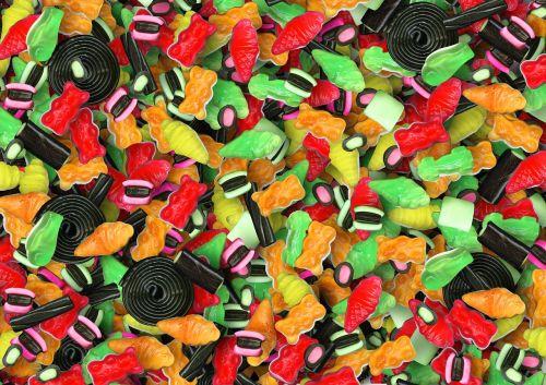 candy bulk coloured