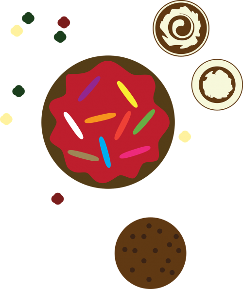 candy dessert cookie