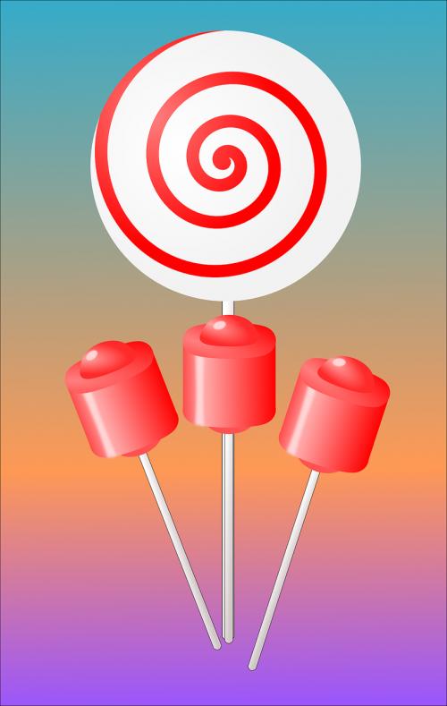 candy lollipops suckers