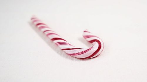 candy cane christmas red